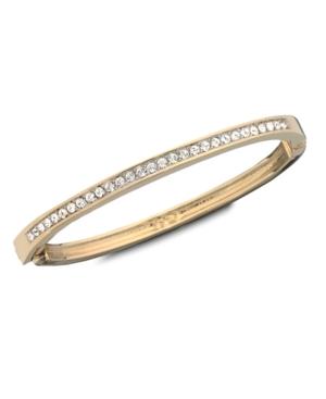 Swarovski Bracelet, Crystal Hinge Bangle