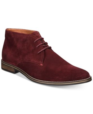 Alfani Men's Jason Suede Lace-Up Boots