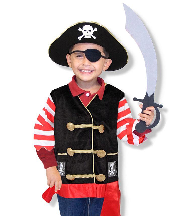 Melissa and Doug - Kids Pirate Role Play Costume Set