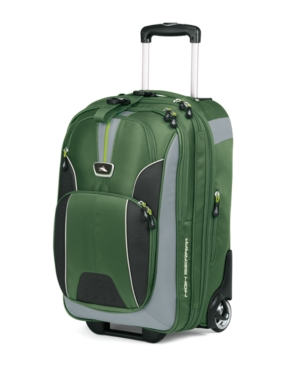 High Sierra Business Suitcase, AT-6 Rolling Carry On Upright