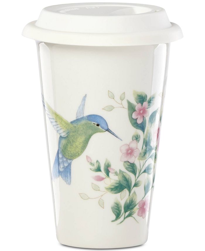 Lenox - Butterfly Meadow Holiday Flutter Thermal Travel Mug