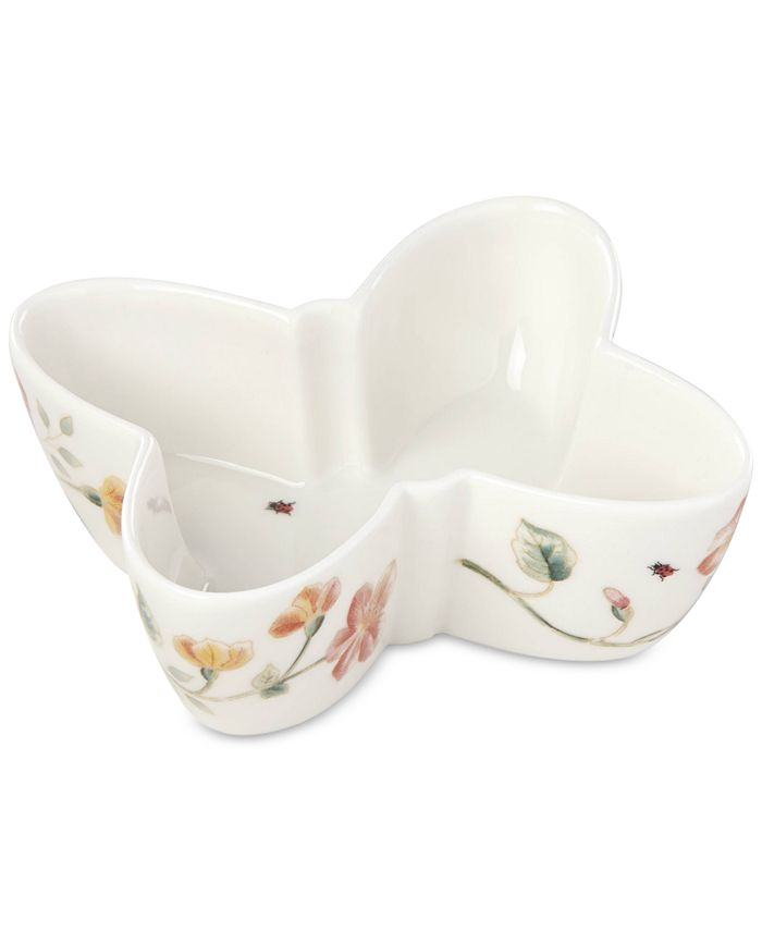 Lenox - Butterfly Meadow Holiday Shaped Bowl