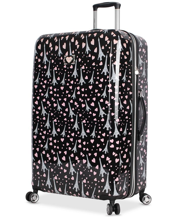 "Betsey Johnson - Hummingbird 30"" Hardside Spinner Suitcase"