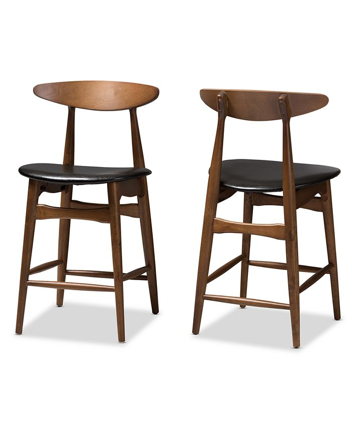Furniture - Knoxe Counter Stool (Set Of 2), Quick Ship