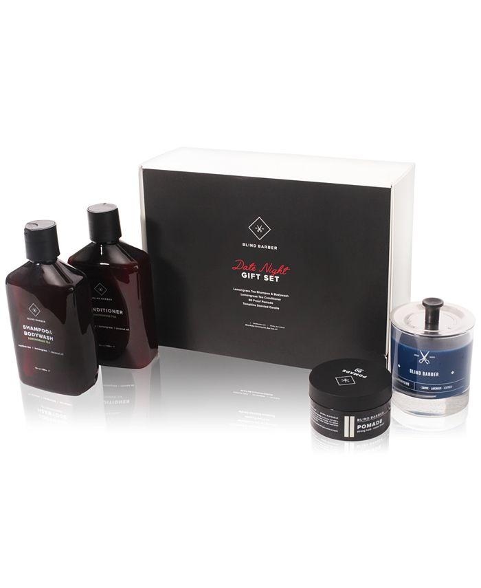 Blind Barber - 4-Pc. Date Night Gift Set