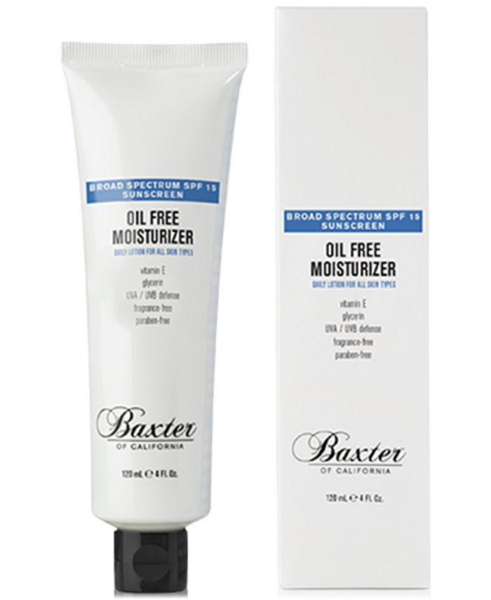 Baxter Of California - Baxter Oil Free Moisturizer SPF 15, 4-oz.