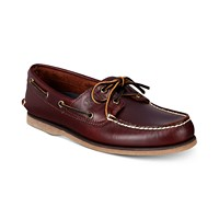 Deals on Timberland Mens Classic Boat Shoes
