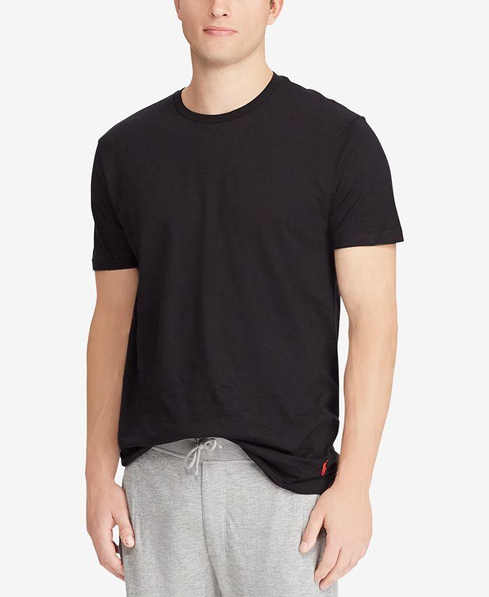 Polo Ralph Lauren Men's Big & Tall 2-Pk. Cotton T-Shirts & Reviews ...
