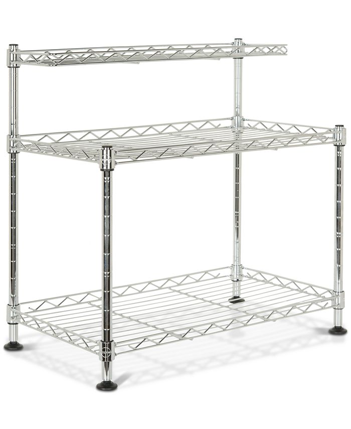 Safavieh - Marcel Chrome Wire Mini Rack, Quick Ship