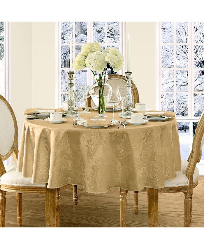 Elrene - Barcelona Damask Tablecloth Collection