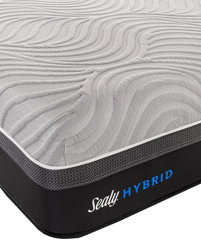"Sealy - Kelburn II 13"" Hybrid Cushion Firm Mattress- Queen"