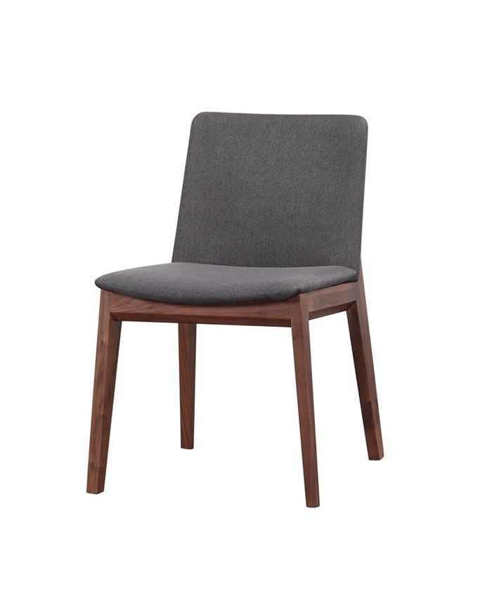Moe's Home Collection - DECO DINING CHAIR GREY-SET OF TWO