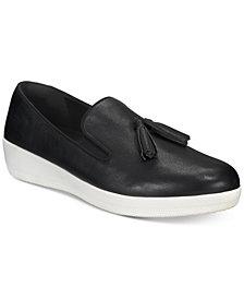 FitFlop Tassel Superskate Slip-On Sneakers