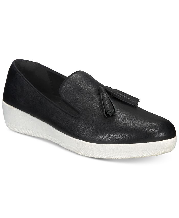 FitFlop - Tassel Superskate Slip-On Sneakers