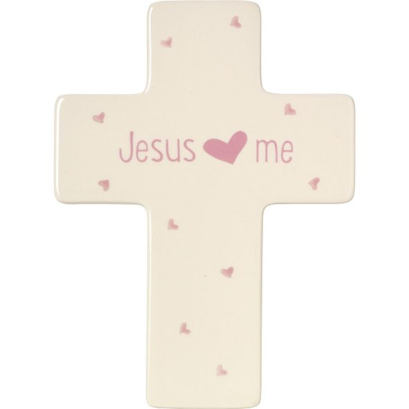 Precious Moments Jesus Loves Me Cross, Girl