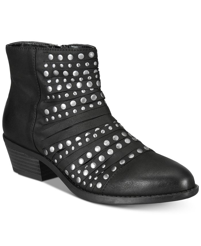 White Mountain - Desire Studded Ankle Booties
