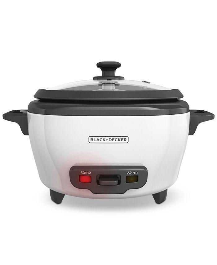 Black & Decker - 6-Cup Rice Cooker