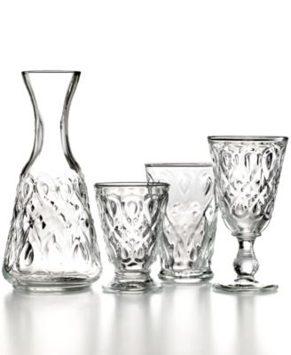 French Home la Rochere Glassware, Set of 6 Lyonnais Clear Water Glasses