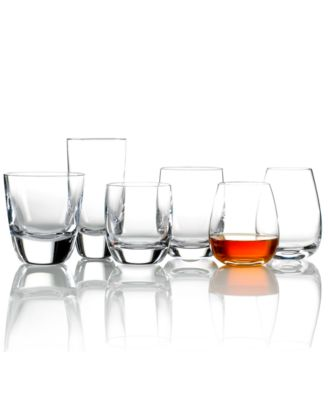 Drinkware, Set of 2 American Bar Straight Bourbon Double Old Fashioned Glasses
