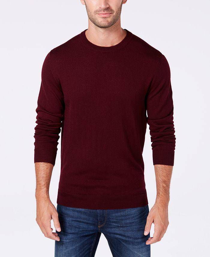 Club Room - Men's Regular-Fit Solid Sweater