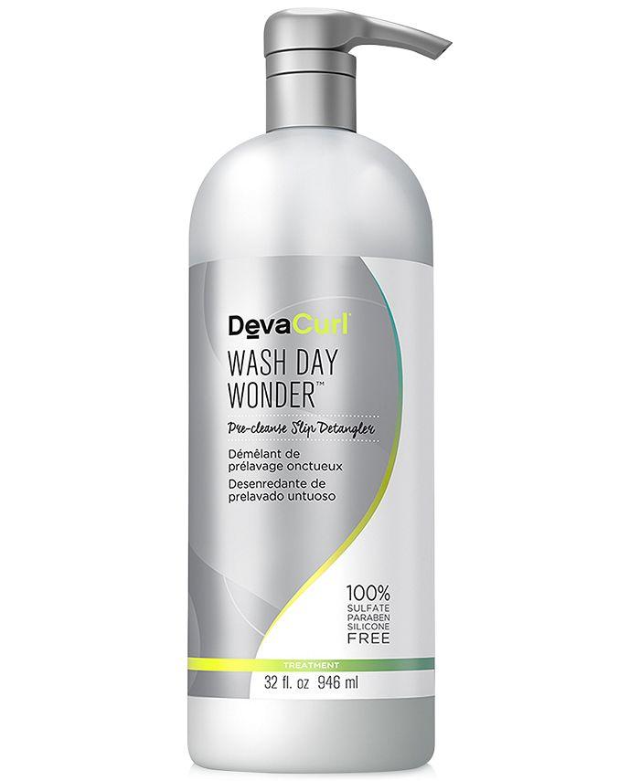 DevaCurl - Wash Day Wonder Pre-Cleanse Slip Detangler, 32-oz.