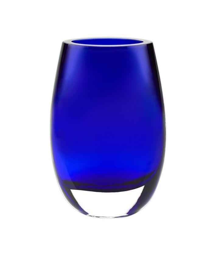"""Badash Crystal - Cobalt 7.5"""" Vase"""