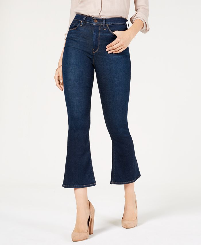 Hudson Jeans - Holly Cropped Flare-Leg Jeans