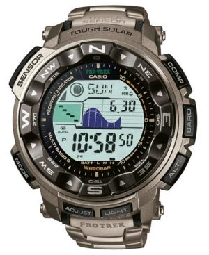G-Shock Men's Digital Pathfinder Titanium Bracelet Watch PRW2500T-7