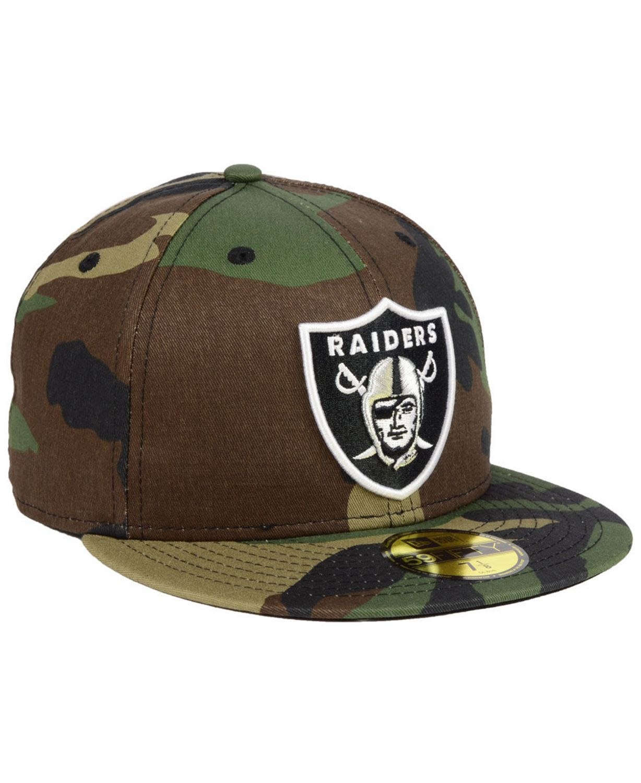 New Era Las Vegas Raiders Basic Fashion 59FIFTY FITTED Cap & Reviews - Sports Fan Shop By Lids - Men - Macy's