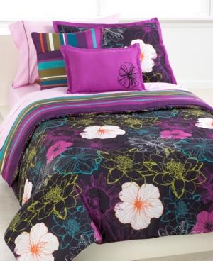 Chloe 7 Piece Twin Comforter Set Bedding