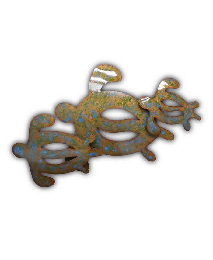 Artisan House - Artisan Sea Turtles Wall Art, Quick Ship