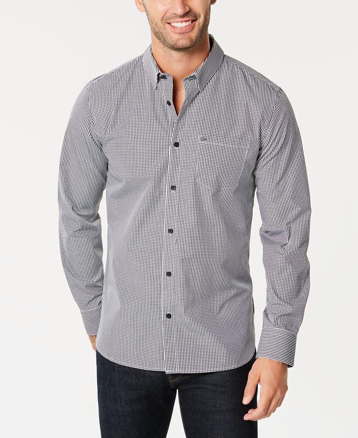 Calvin Klein - Men's Slim-Fit Striped Shirt