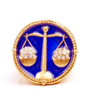 RACHEL Rachel Roy Ring, Gold Tone Libra Ring