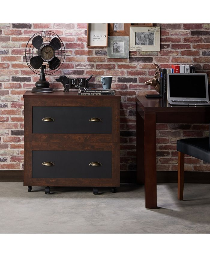 Furniture of America - Hollis Rustic File Cabinet