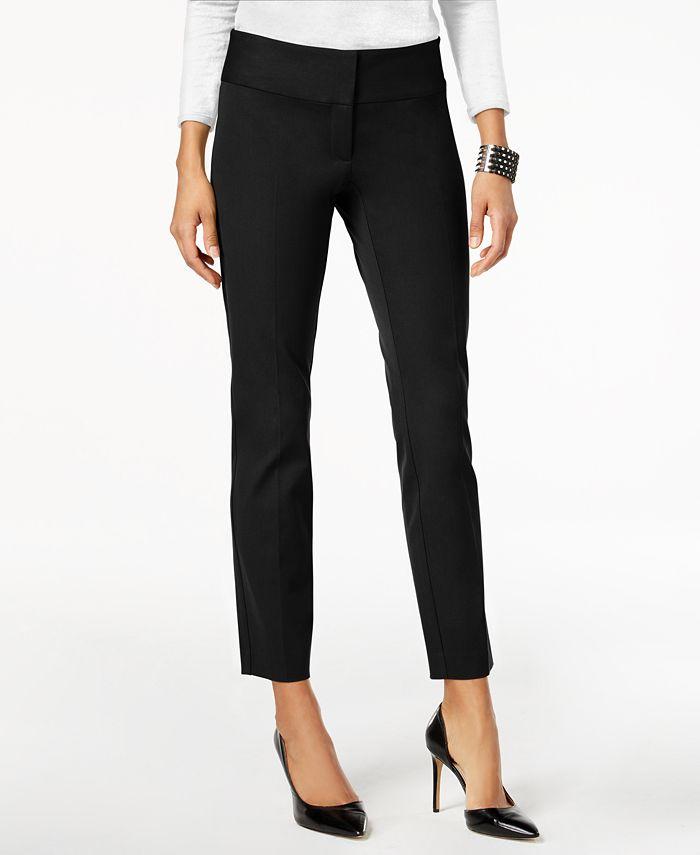Alfani - Slim Straight-Leg Pants