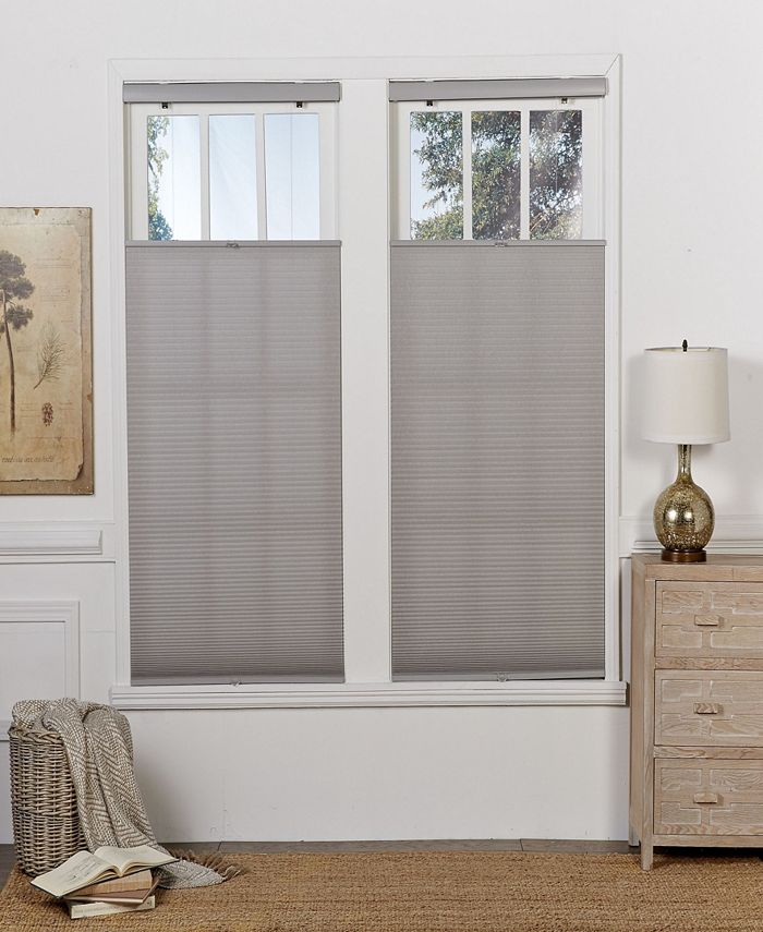 The Cordless Collection - Cordless Light Filtering Top Down Bottom Up Shade, 37.5x72
