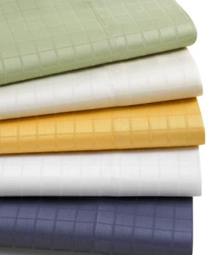 310 Thread Count Windowpane California King Sheet Set Bedding
