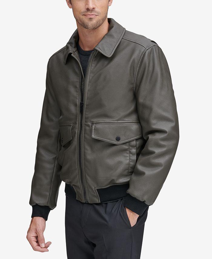 Marc New York - Men's Faux-Leather Jacket