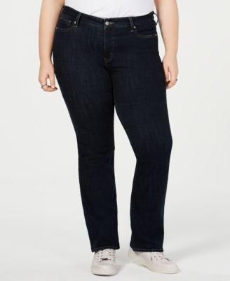 Levi's Trendy Plus Size 415 Classic