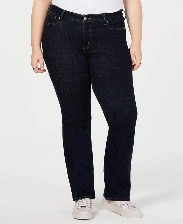 Levi's - Trendy Plus Size 415 Classic Bootcut Jeans