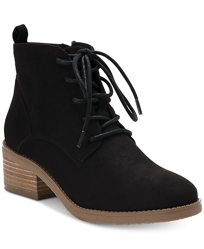 Style & Co - Rizio Lace-Up Ankle Booties