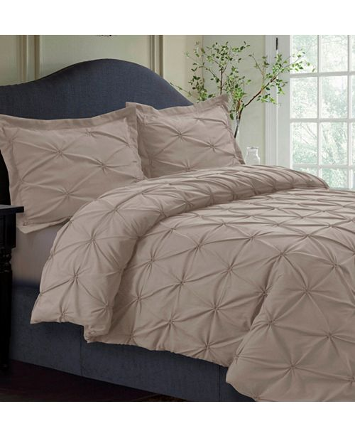 Tribeca Living Sydney Microfiber Oversized King Duvet Cover Set Reviews Duvet Covers Bed Bath Macy S