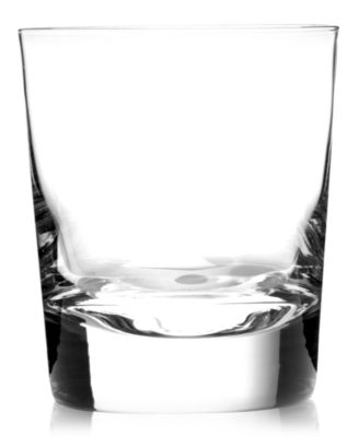 Luigi Bormioli Glassware, Set of 4 Allegro Double Old Fashioned Glasses