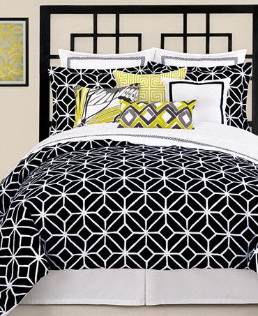 Trina Turk Dress on Trina Turk Bedding  Trellis Black Comforter And Duvet Cover Sets