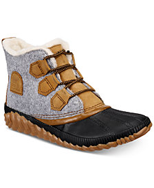 Sorel Women's Out N About Plus Lug Sole Booties
