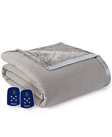 Shavel Micro Flannel® to Ultra Velvet® Full Electric Comforter/Blanket