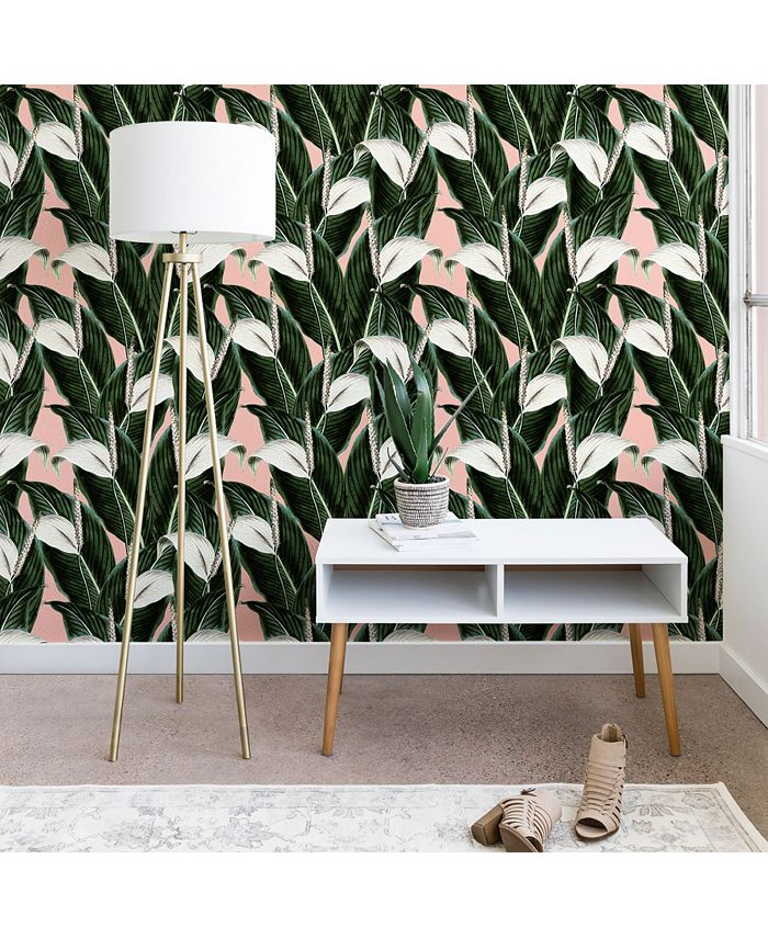 Deny Designs - Marta Barragan Camarasa Sweet floral Desert wallpaper