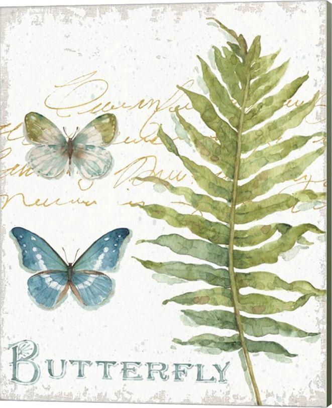 Metaverse My Greenhouse Botanical Iv By Lisa Audit Canvas Art