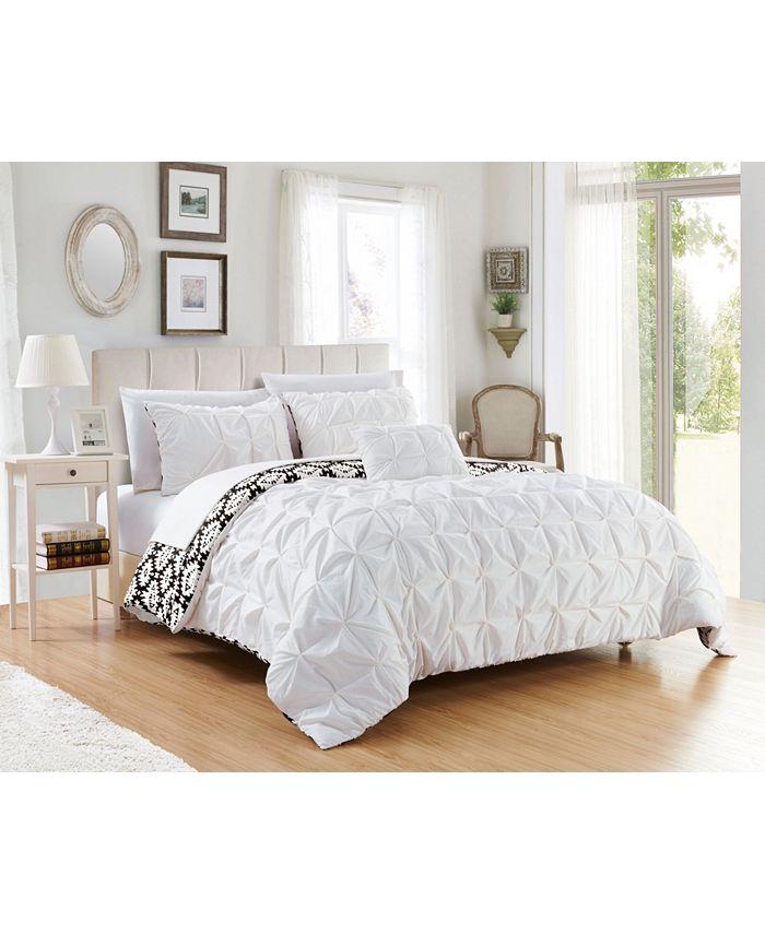 Chic Home - Zissel 4-Pc. Duvet Cover Sets