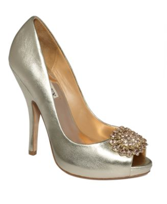 Badgley Mischka Shoes, Lissa Evening Pumps